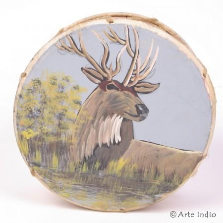 Tinya. Shaman drum. Deer