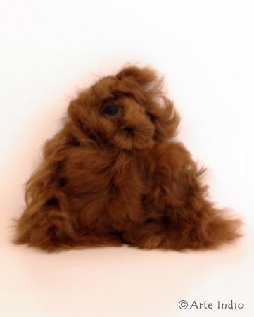 Alpaca fur teddy