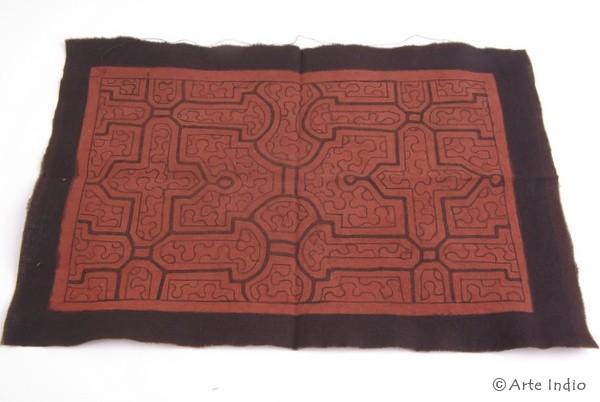 Painted carpet - Shipibo Indians