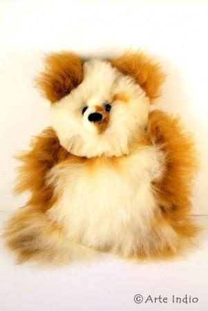 Teddy aus Alpakafell, ca. 25 cm