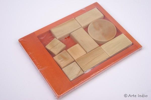 Holz-Spiel aus Kolumbien