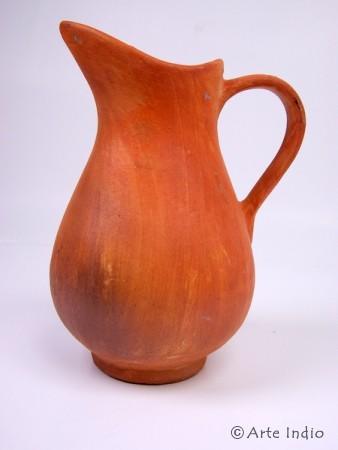 "Ton-Krug ""antik-Look"", ca. 25 cm. Handarbeit"