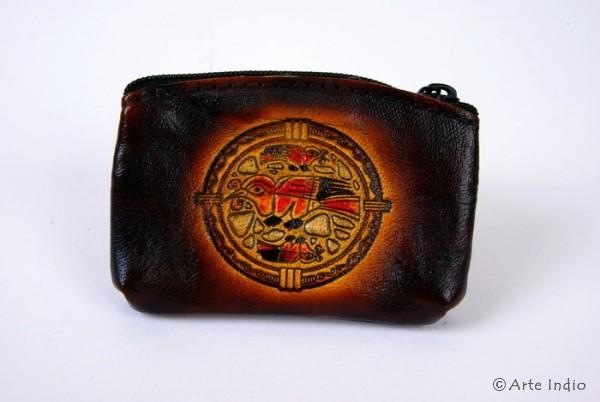 Schlüsseltasche (Portemonnaie) Rindsleder Kolibri. ca. 5.5 cm x 8 cm