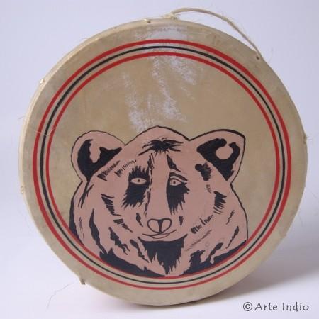 Tinya. Shaman drum. Bear