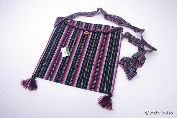 Woven bag made of synthetic wool (polyacrylic)