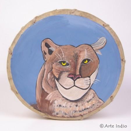 Tinya. Shaman drum. Puma
