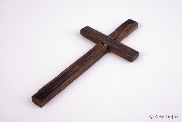 Holz-Kreuz/Chonta. ca. 15 cm Lang